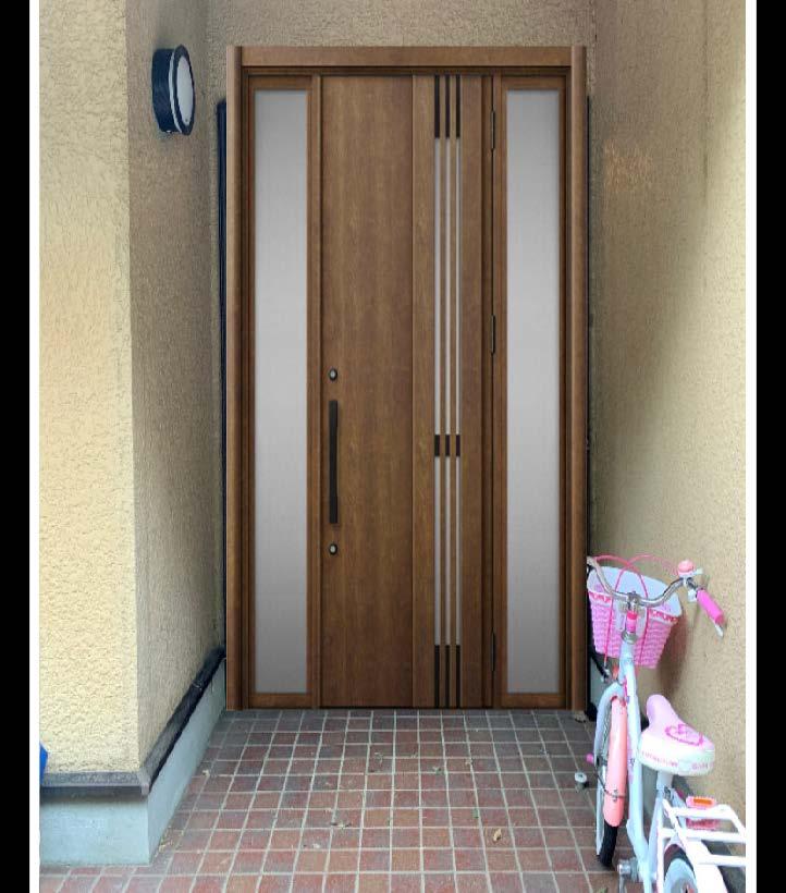 玄関ドア取替(リシェント)